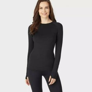 Cuddl Duds Thermal Active Long Sleeve Crew top